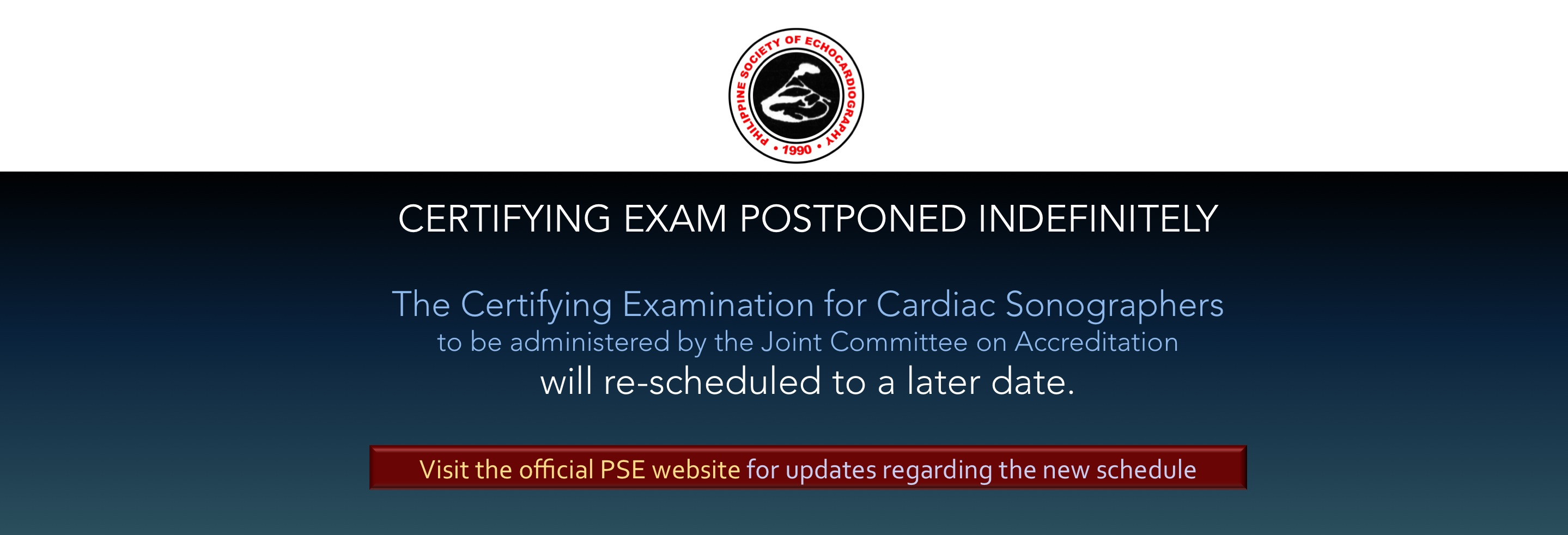 sonoexampostponed